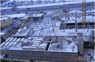 Construction news in January, 2014