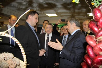 EcoBazaar participated in the exhibition of Kaluga region agroindustrial complex